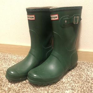Hunter Original Short Rain Boot Hunter Green